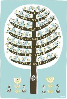 Sing A Song Of Joy print by Freya Art & Design on Etsy.