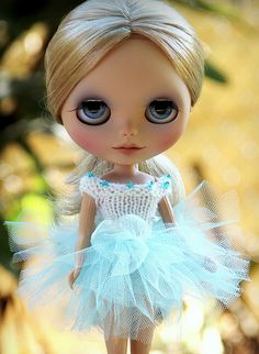 This Blythe doll looks like a penny sweetie.