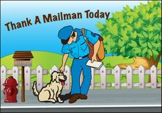Information and Clip Art For Thank A Mailman Day