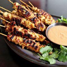 Chicken Sathay - Spiedini tailandesi