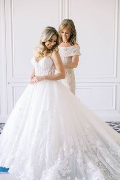 Real Wedding: Kaitlin & Tyler Wedding Gowns, Lace Wedding, Girls Dresses, Flower Girl Dresses, Real Weddings, Couture, Bride, How To Wear, Fashion