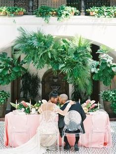 Nov 2019 - How to Perfectly Add, Just the Right Amount of Tropical Decor to Your Wedding Day Beach Wedding Attire, Destination Wedding, Wedding Day, Garden Wedding, Vintage Wedding Theme, Beach Wedding Inspiration, Little Black Books, Tropical Decor, Beach Themes