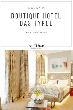 Geheimtipp Boutiquehotel Das Tyrol in Wien - The Chill Report Train Journey, Boutique Hotels, Hotel Reviews, Best Hotels, Vienna, Austria, Chill, Traveling, Europe