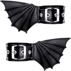 Restyle - Bat Cuffs These would be cool on the ankles with boots