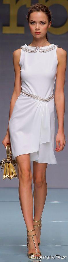 Roccobarocco ~ Spring Dress, White, 2015