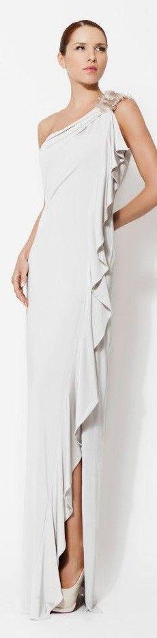 Veloudakis Big Dresses, Amazing Dresses, Event Dresses, Dance Dresses, Party Dresses, Greek Fashion, White Fashion, Dance Outfits, Cool Outfits