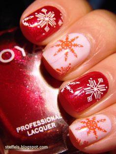Christmas nails #nail #nails #nailart #nailpolish