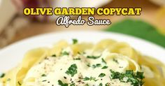 The decadent creamy Alfredo sauce from Olive Garden can now be enjoyed in your own home with this scrumptious copycat recipe loaded with cheese, cream and a special ingredient to really take it over the top.