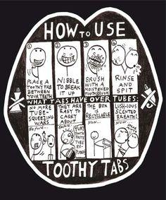 Don't forget about your teeth! De Lush toothy tabs zijn geweldig. In het begin vond ik het een beetje raar, poetsen zonder 'echte' tandpasta, maar mijn tanden worden hiermee echt veel schoner!