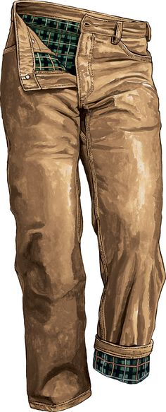 Men's Flannel-lined Fire Hose 5 Pocket Jeans - Duluth Trading