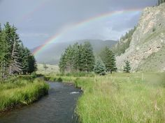 Costilla Creek.  Valle Vidal Unit of Carson National Forest.  New Mexico. One of the best places in the world to just chill