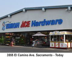 3555 El Camino Ave Sacramento - Present Day Sacramento City, Theatre Shows, Present Day, Theater, Broadway Shows, Hardware, History, El Camino, Historia