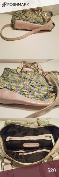 Juicy Couture confetti purse Multi pastel confetti purse Juicy Couture Bags Shoulder Bags