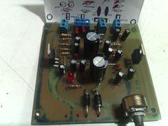 amplificador estereo  2x15watts con tda2030 hecho en casa.
