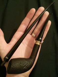 The Stanwell Hans Christian Anderson pipe has been on my P.A.D. list for years... two stems: regular and churchwarden. Versatile and beautiful.