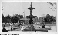 Studebaker Fountain: Howard Park :: Assorted Images from IHS Collections South Bend Indiana, My Town, Family History, Google Images, Statue Of Liberty, Fountain, Park, Architecture, Places