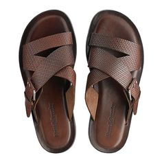 Luxury Sandals New Arrivals Leather Sandals, Shoes Sandals, Mens Beach Shoes, Leather Slippers For Men, Summer Shoes, Loafers Men, Leather Men, Shoe Boots, Huarache