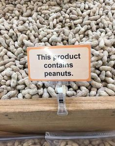 Self-contained peanuts