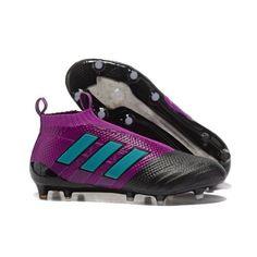 the latest 1bbde 597ac Adidas ACE 17 PureControl FG Botas De Futbol Purpura Negro Azul
