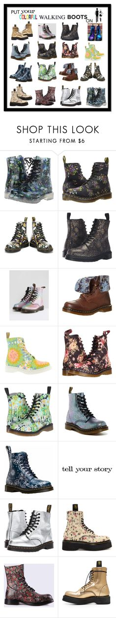 """Geen titel #393"" by miriam-witte ❤ liked on Polyvore featuring Dirty Laundry, Dr. Martens, INDIE HAIR, Tim Holtz, R13 and Diesel"