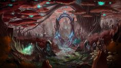 ArtStation - Magic forest, Stathis Karabateas