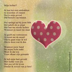 Mijn liefste Valentijn