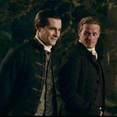 Claire Fraser, Jamie Fraser, Gabaldon Outlander, Sam Heughan Outlander, Lord John Grey Outlander, John Gray, Fantasy Tv, Outlander Tv Series, Wayfarer
