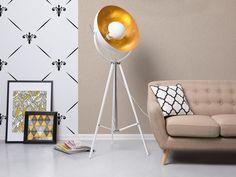 Designer Lampe in Weiss Beliani, Tripod Floor Lamps, Tripod Lamp, Floor Lamp, Lamp, Floor Lamp Base, Flooring, White Floor Lamp, Lamp Bases