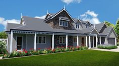 Ascot Manor Picture of Traditional Storybook Stone Manor Hamptons Gables and two storey design traditional design level site design floor plans all 5 bedroom 4 bedroom