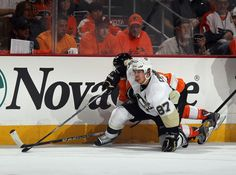 Sidney Crosby Pittsburgh Penguins vs Philadelphia Flyers Game 3 April 15