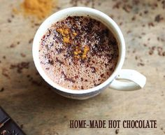 yummy homemade hot chocolate recipe