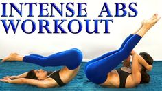 Killer Ab Challenge, Intense 20 Minute Extreme Abs At Home Workout For W...