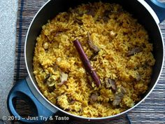 Just Try & Taste: Nasi Biryani Daging Sapi