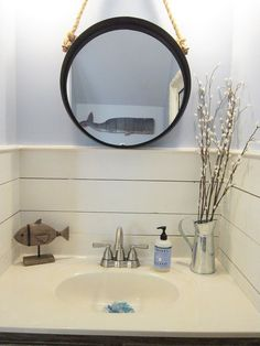 Tiny Half Bath Makeover
