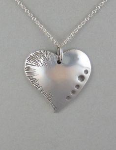 Sterling Heart Pendant  $75.00