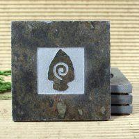 Classic Stone Coaster: Arrowhead - $6.95