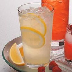 Old-Fashioned Lemonade Recipe from Taste of Home