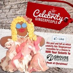 Making these celebrity gingerbread people was such a blast!