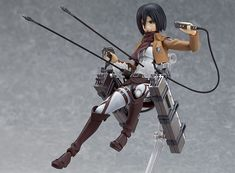 Action Figure Spotlight: Good Smile Attack on Titan: Mikasa Ackerman Figma Action Figure