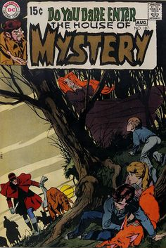 House of Mystery 187. Cover art by Neal Adams. #comic #horror