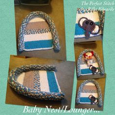 The Perfect Stitch...: Crochet Baby Nest/Lounger