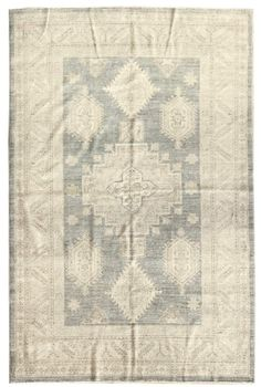 Soft-Tone Rugs Gallery: Soft-Tone Caucasian Design Rug, Hand-knotted in Afghanistan; size: 5 feet 6 inch(es) x 8 feet 1 inch(es)