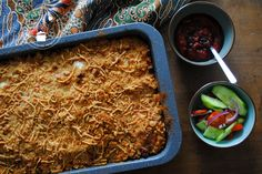 Chicken Macaroni Casserole is quick and easy recipe to make. A yummy, cheesy casserole the kids will love that is perfect for those busy weekday dinners. Macaroni Casserole, A Food, Food And Drink, Pasta, Multicooker, One Pan Meals, Indonesian Food, Corned Beef, Kefir