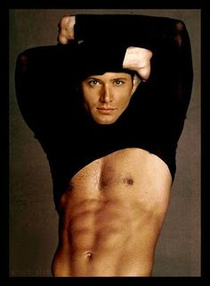 Jensen Ackles-- I don't know if this is really him or if it's Photoshopped, but really...just yeah.