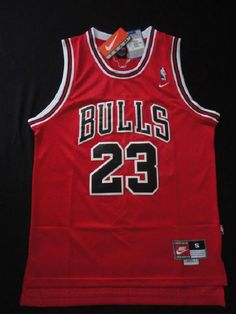 Michael Jordan #Chicago Bulls #23 Nike Classic #NBA Jersey Red Nwt Adult Xlarge from $39.99