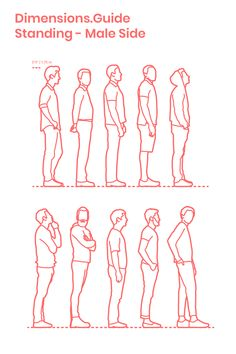 Standing Male Side is part of drawings - drawings Human Figure Sketches, Human Sketch, Human Drawing, Figure Sketching, Urban Sketching, Figure Drawing, Drawing Reference Poses, Drawing Poses, Painting People