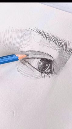 Pencil Art Drawings, Art Drawings Sketches, Art And Craft Videos, Bright Art, Human Art, Drawing Techniques, Crayon, Art Sketchbook, Drawing People