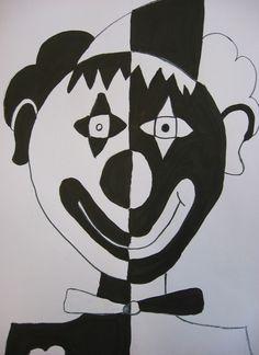 ZŠ Čakovice - výtvarná výchova - Fotoalbum - Ukázky prací - šestý ročník - Klauni Crafts To Make, Easy Crafts, Notan Art, Art Projects, Projects To Try, Wire Crafts, Aesthetic Art, Superhero Logos, Bunt