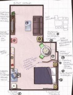 Studio Apartments Layout 20121201: an apartment layout with ikea furniturejohn lemasney