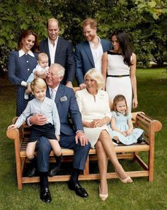 The royal family was all laughs in a candid portrait taken for Prince Charles's birthday, featuring Prince Harry, Prince William, Kate Middleton, and Meghan Markle. Kate And Meghan, Prince Harry And Meghan, Prince And Princess, Baby Prince, Young Prince, Royal Prince, Duchess Kate, Duke And Duchess, Duchess Of Cambridge